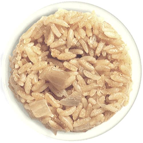 שניצל קומפני בסר תפריט אורז לבן